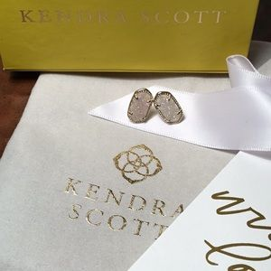 Kendra Scott Drusy Ellie Earrings Gold